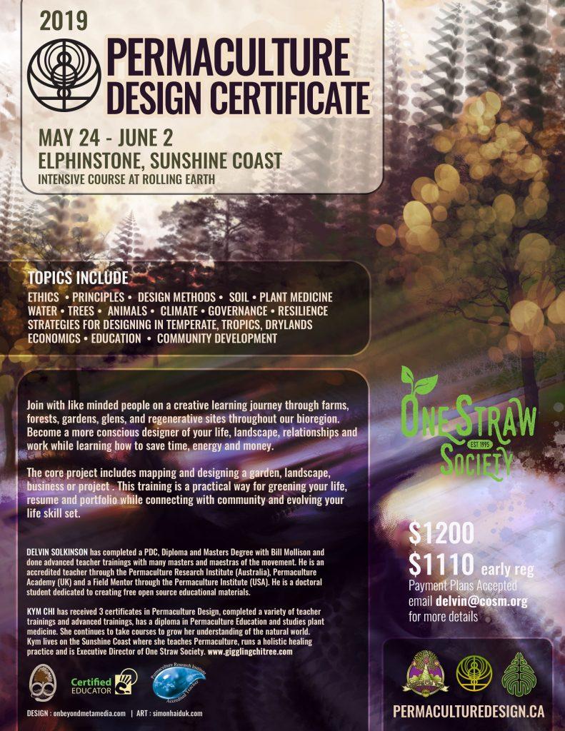 Permaculture Design Certification Sunshine Coast