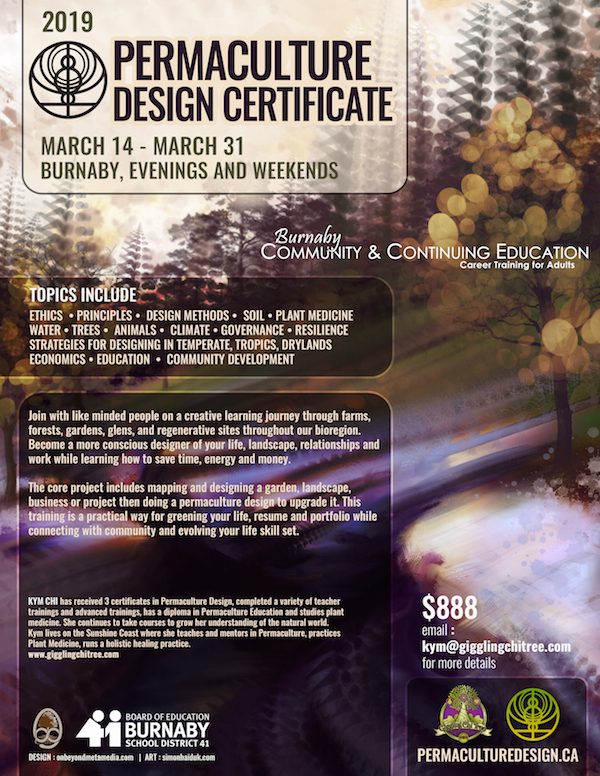 Permaculture Design Certification – Evenings and Weekends