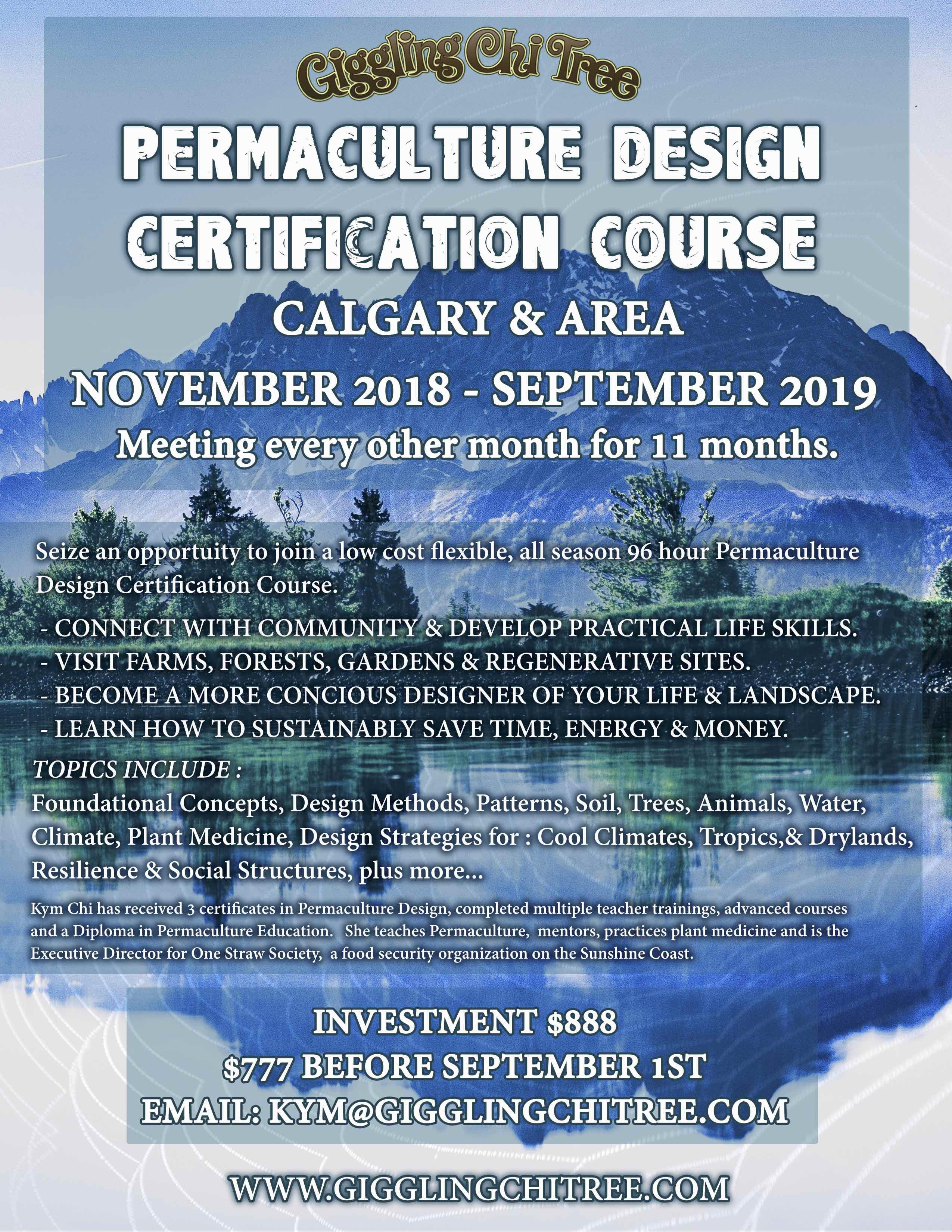 Design Certification Courses Alberta