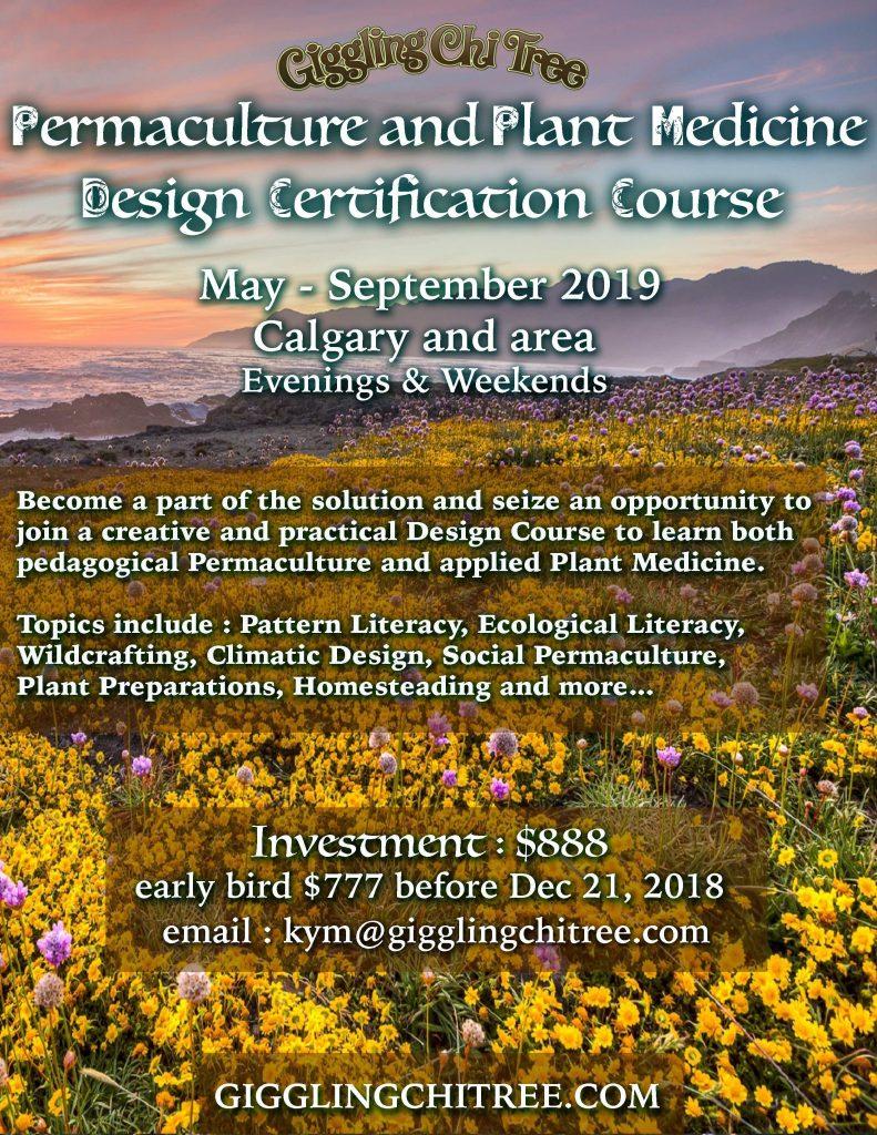 Calgary Permaculture Plant Medicine Design Certification